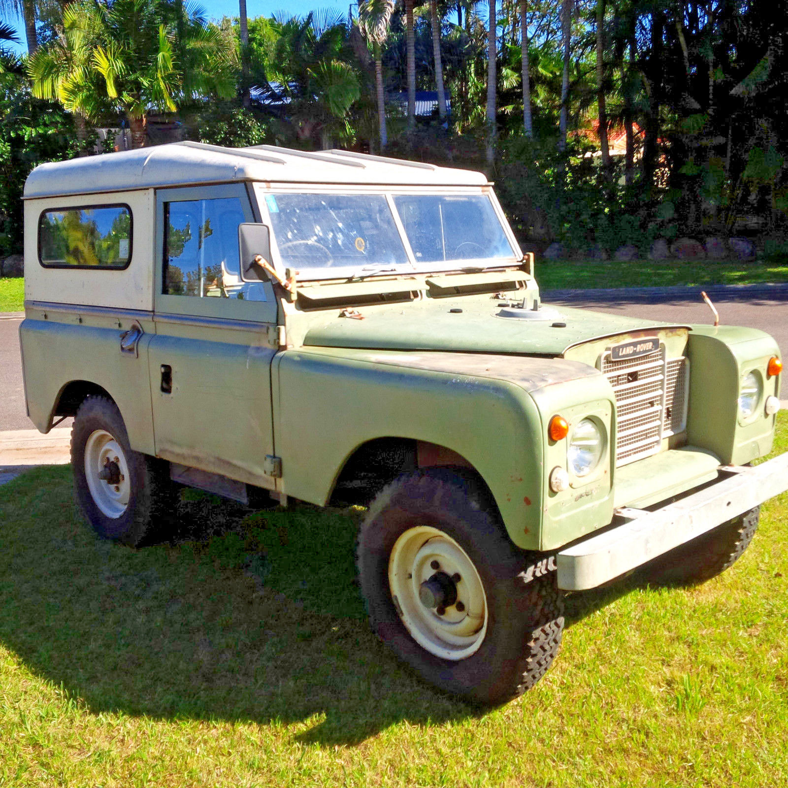 Completely Original 1973 Land Rover Series 3 SWB Offroad