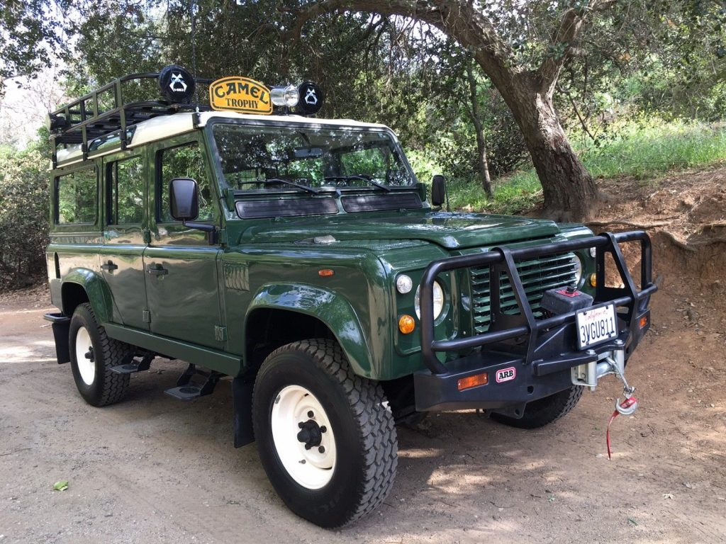 Land Rover Defender Camel Trophy >> completely original 1980 Land Rover Defender 110 offroad for sale