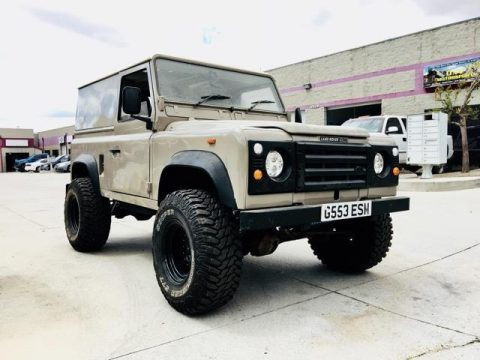 everything works 1980 Land Rover Defender offroad for sale