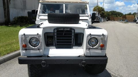 frame off restored 1973 Land Rover Defender Series III offroad for sale