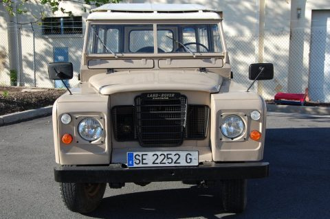immaculate 1974 Land Rover 88 Series III offroad for sale