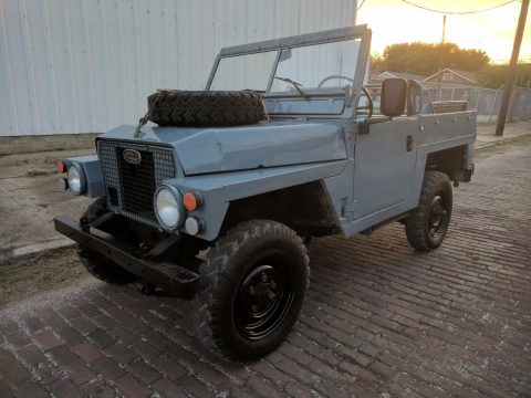 Lightweight 1979 Land Rover Series III 88 offroad for sale