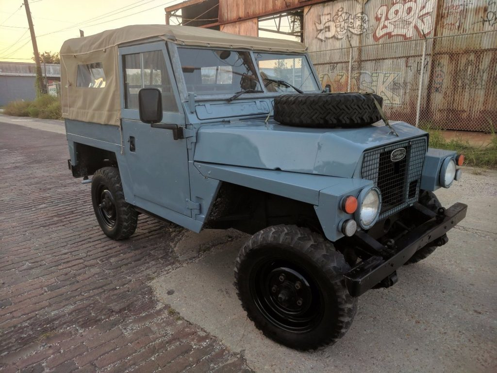 lightweight 1979 land rover series iii 88 offroad for sale. Black Bedroom Furniture Sets. Home Design Ideas
