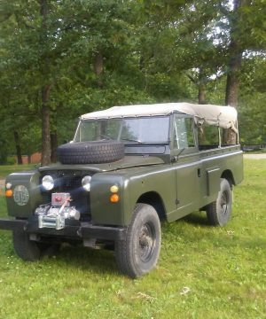 Military SPECIAL 1965 Land Rover Defender offroad for sale
