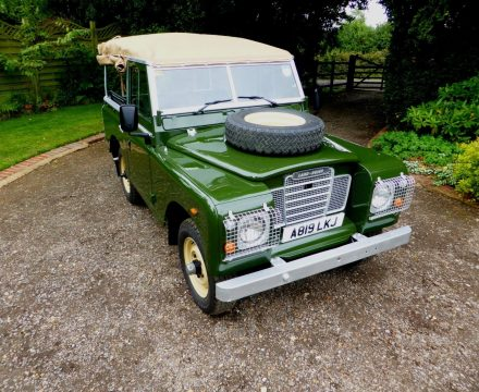 mint condition 1984 Land Rover Defender offroad for sale