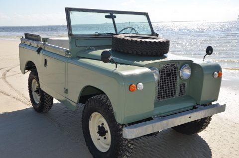 original 1967 Land Rover Defender offroad for sale