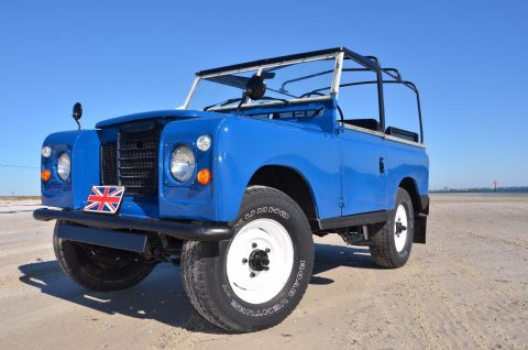 properly working 1970 Land Rover Series 2A offroad for sale