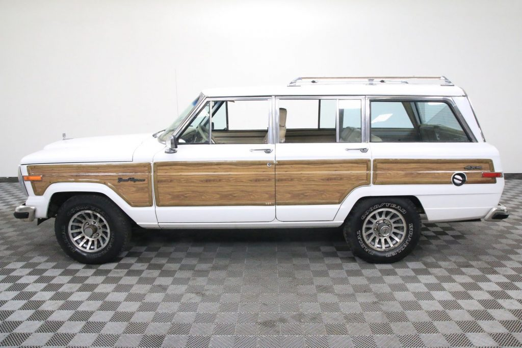 Rare Bright White Luggage Rack 1990 Jeep Wagoneer Offroad