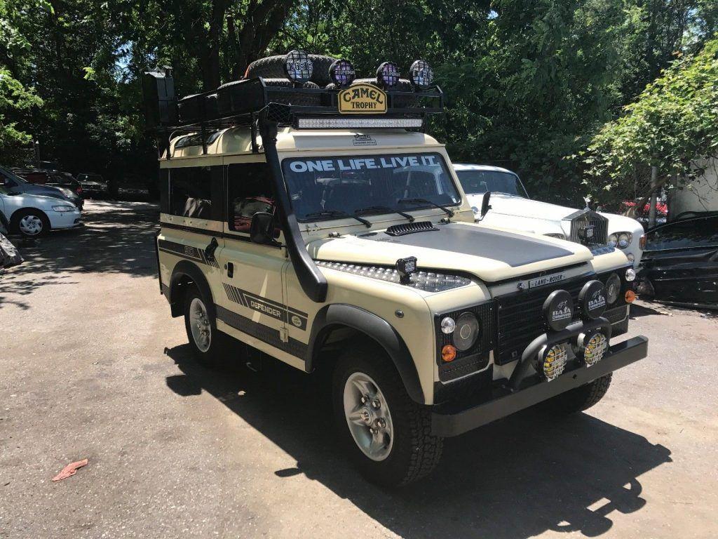Restored 1982 Land Rover Defender Santana Offroad For Sale