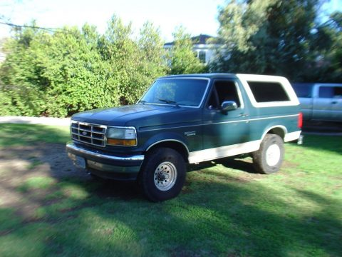 all original 1993 Ford Bronco Eddie Bauer offroad for sale