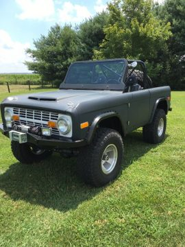 clean 1977 Ford Bronco offroad for sale