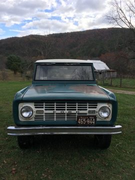 completely original 1966 Ford Bronco offroad for sale