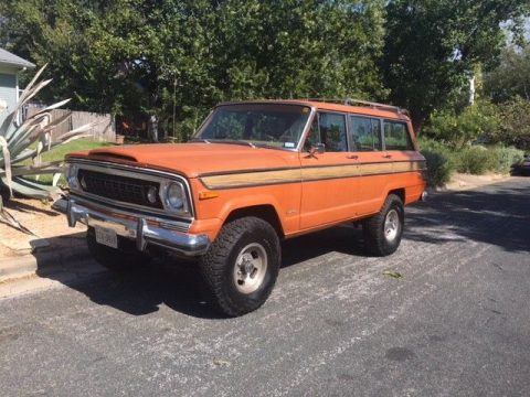 custom 1977 Jeep Wagoneer offroad for sale