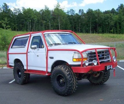 Exoskeleton roll cage 1996 Ford Bronco XL 4X4 Wagon offroad for sale