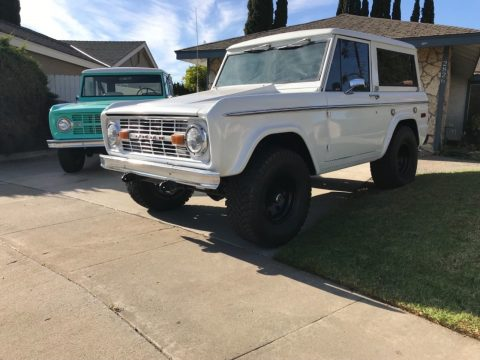 fresh paint 1974 Ford Bronco Sport for sale
