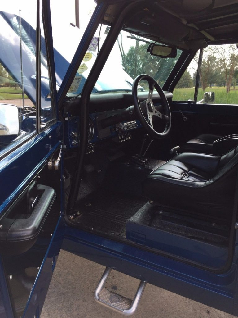Fully Restored 1971 Ford Bronco Offroad For Sale Interior