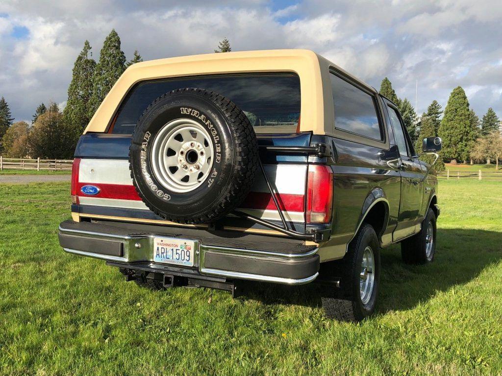 good condition 1991 Ford Bronco Eddie Bauer offroad