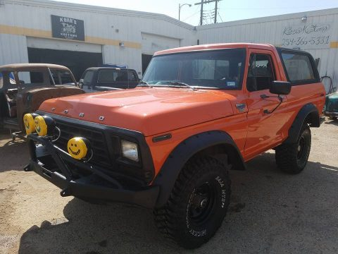 lots of new equipment 1979 Ford Bronco XLT offroad for sale