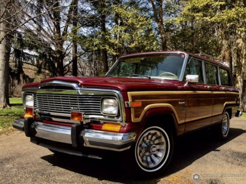 low miles 1983 Jeep Grand Wagoneer offroad for sale