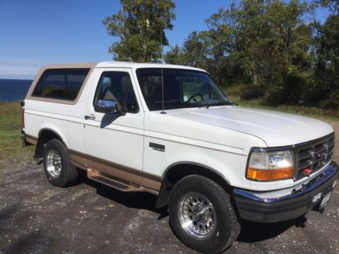 many upgrades 1996 Ford Bronco Eddie Bauer offroad for sale