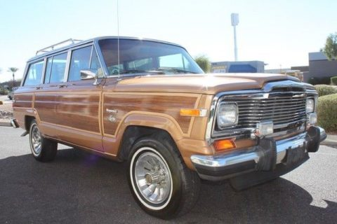 mint condition 1983 Jeep Wagoneer Limited 4X4 offroad for sale