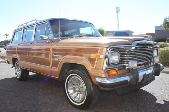 mint condition 1983 Jeep Wagoneer Limited 4X4 offroad