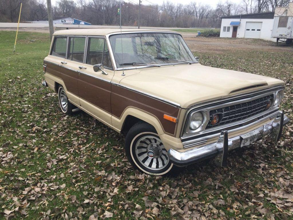 needs TLC 1975 Jeep Wagoneer Wagoneer offroad
