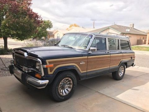 new engine 1985 Jeep Wagoneer offroad for sale