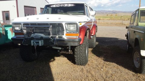optioned 1978 Ford Bronco Ranger XLT offroad for sale
