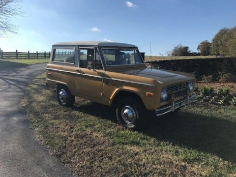 original 1972 Ford Bronco Explorer offroad for sale