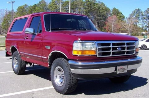 original 1993 Ford Bronco XLT offroad for sale