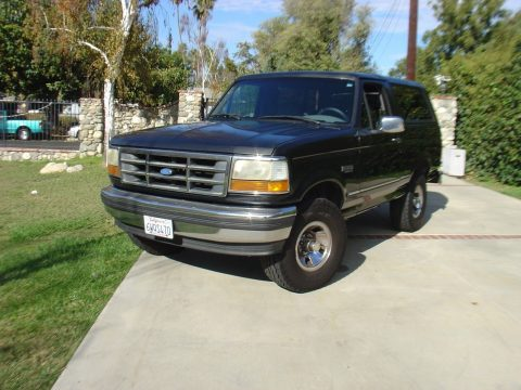 original 1994 Ford Bronco XLT offroad for sale