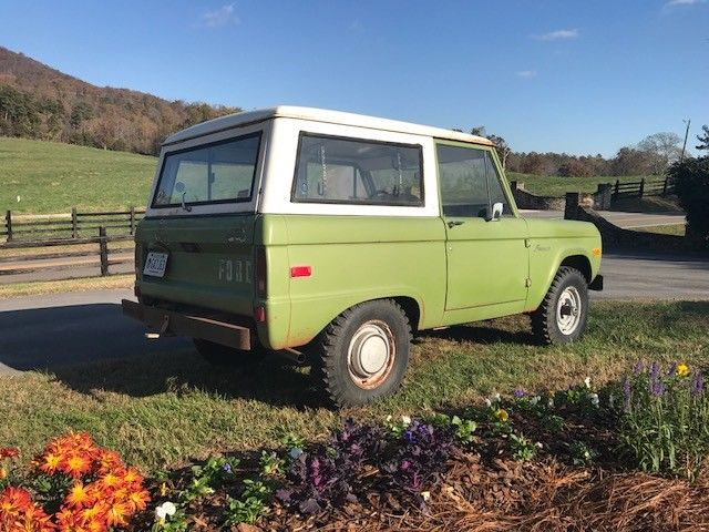original paint low miles 1974 Ford Bronco offroad