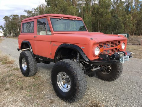 Professionally Built 1968 Ford Bronco offroad for sale
