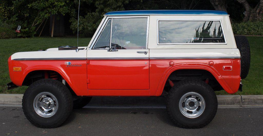 rare Baja edition 1973 Ford Bronco offroad
