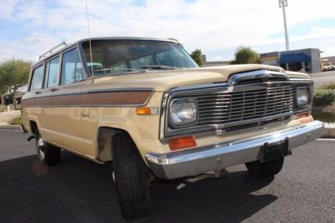 rust free 1979 Jeep Wagoneer Brougham offroad for sale