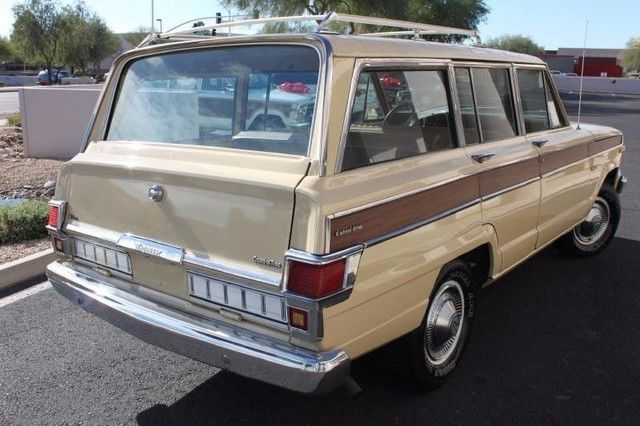 rust free 1979 Jeep Wagoneer Brougham offroad
