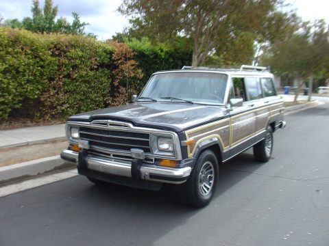 solid rust free 1987 Jeep Wagoneer offroad for sale
