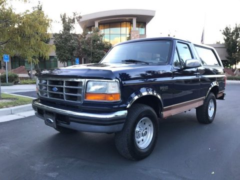 super clean 1995 Ford Bronco Eddie Bauer offroad for sale