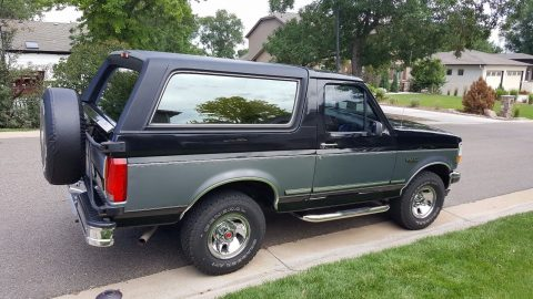 very clean 1993 Ford Bronco XLT offroad for sale
