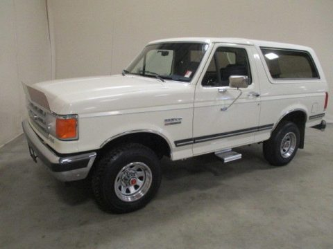very nice 1988 Ford Bronco XLT offroad for sale