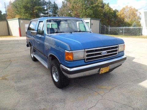 very solid 1990 Ford Bronco XLT 4X4 for sale