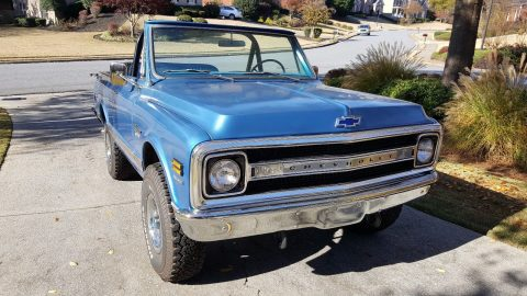 rebuilt 1970 Chevrolet Blazer CST offroad for sale