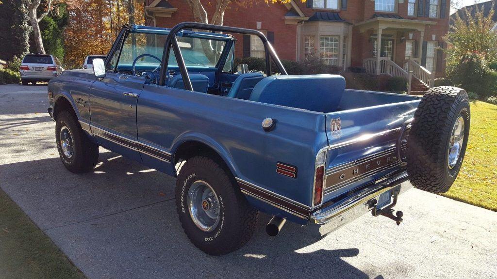 rebuilt 1970 Chevrolet Blazer CST offroad