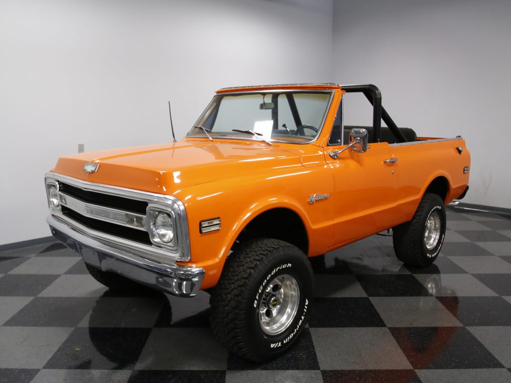 upgraded engine 1969 Chevrolet Blazer offroad