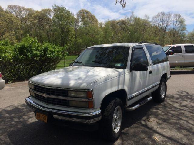 daily driver 1993 Chevrolet Blazer Silverado offroad