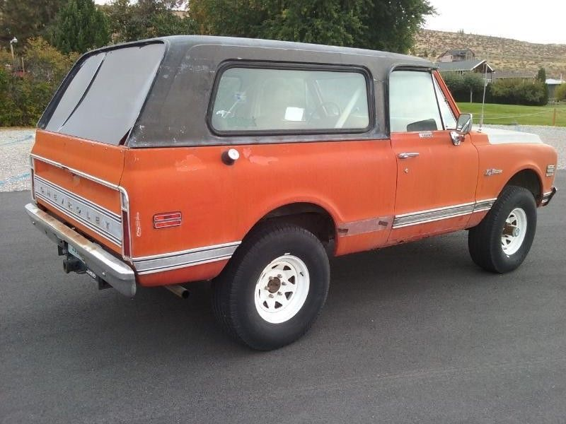 fully loaded 1971 Chevrolet Blazer CST offroad