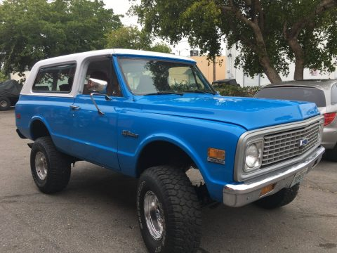 fully restored 1971 Chevrolet Blazer 4×4 offroad for sale