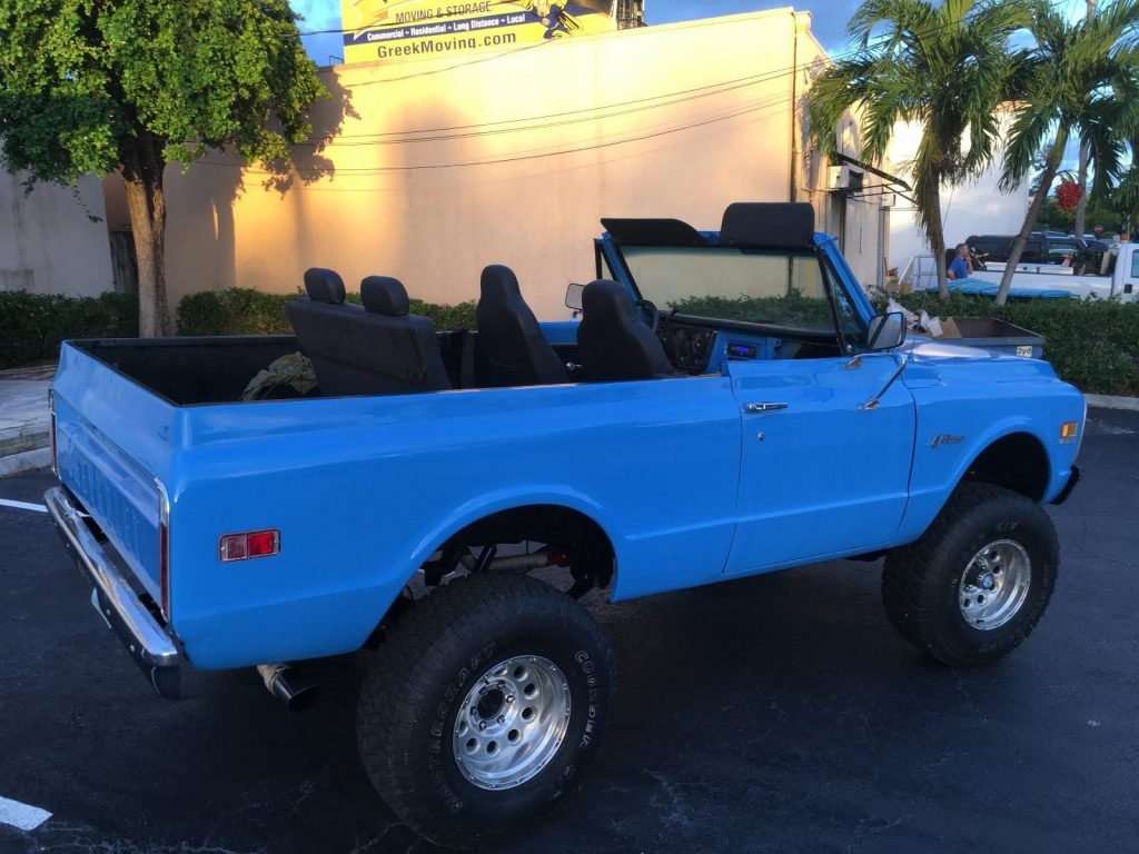 fully restored 1971 Chevrolet Blazer 4×4 offroad