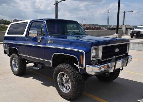 lifted 1977 Chevrolet Blazer Cheyenne offroad for sale